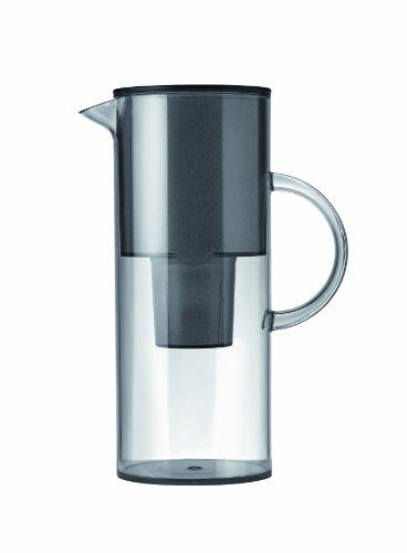 Stelton Jug, transparent with water filter - Smoke , 50.7 oz , 1.5 ()