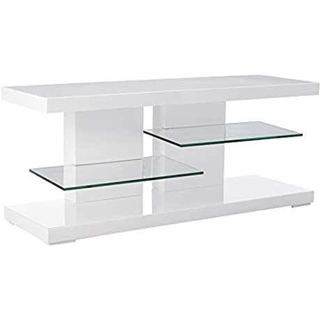 Coaster Home Furnishings 700824 Contemporary TV Console White