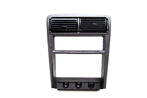 99 00 01 02 03 04 FORD MUSTANG DOUBLE DIN RADIO DASH BEZEL ()