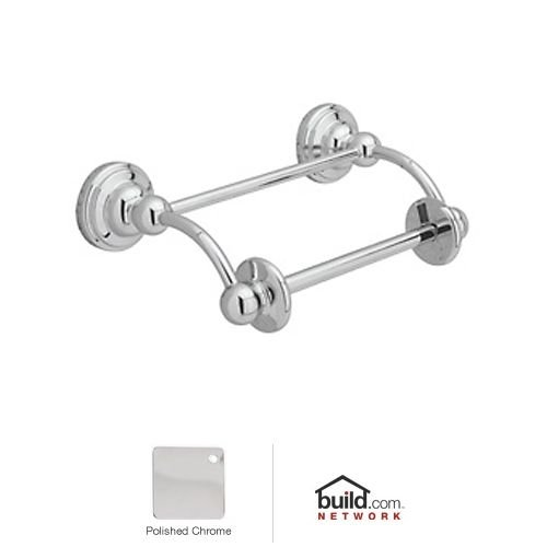 Rohl U.6960APC Perrin and Rowe Toilet Paper Holder with Swinging or Lift Arm for Roll in Polished Chrome