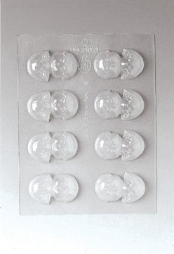 Paderno World Cuisine 8 Imprint Polypropylene 2.5 Inch Chick In Egg Chocolate Mold ()