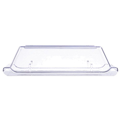 Churchill Alchemy China Plate Clear Plastic Cover - 11 7/8