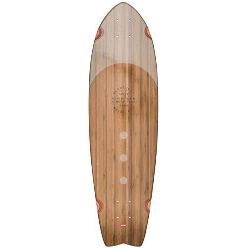 Deck Globe Chromantic - GLOBE Skateboards Chromantic Cruiser Skateboard Deck, Bamboo/Almond, 33