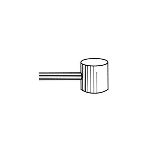 Bowdenzug Innenkabel 2m x 2,0mm mit Nippel 8mm x 8mm