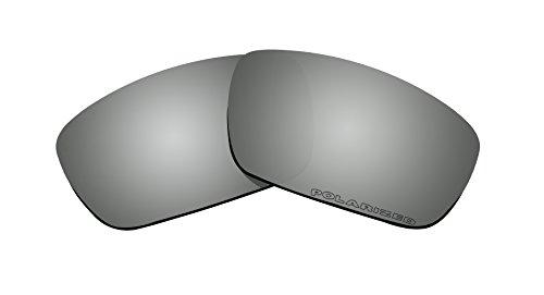 Sunglasses Polarized Lenses Replacement for Oakley Crankshaft (OO9239) Sunglasses Black Iridium Mirror Coatings