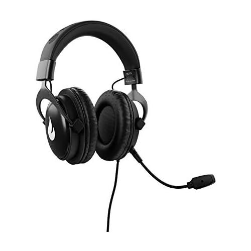 chollos oferta descuentos barato Flamefall Argos Auriculares gaming HD con drivers de 50mm micrófono extraíble y cómoda estructura de metal PS4