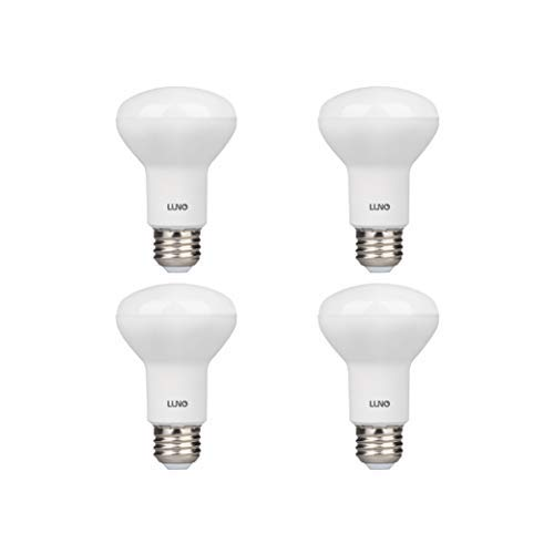 LUNO R20 Dimmable LED Bulb, 6.5W (45W Equivalent), 455 Lumens, 2700K (Soft White), Medium Base (E26), UL & Energy Star (4-Pack)