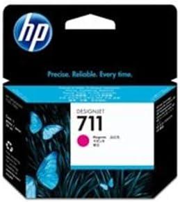 (業務用10セット) HP ヒューレット・パッカード インクカートリッジ 純正 【hp711 CZ131A】 マゼンタ