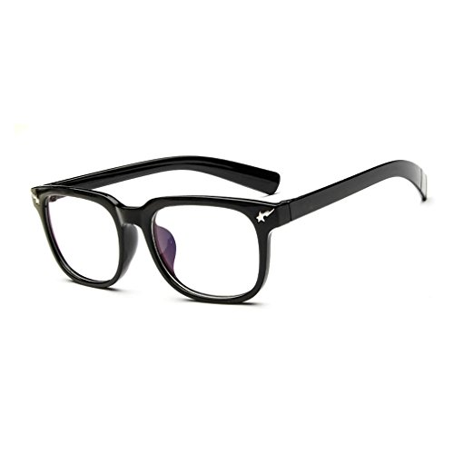 LOMOL Girls Retro Lovely Personality Student Style Transparent Lens Wayfarer Frame Glasses(C1) (Where Can I Buy Cat Eye Contacts)