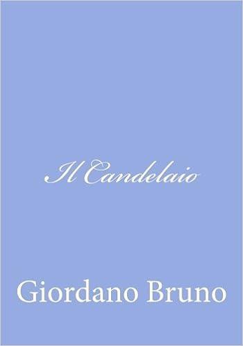 Candelaio (Italian Edition)