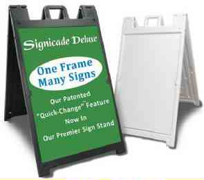 deluxe-signicade-a-frame-sidewalk-curb-sign-with-quick-change-system-white