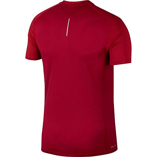 heather Nike Miler reflective Crush Silver Hombre Red Camiseta wX4dzxrqX