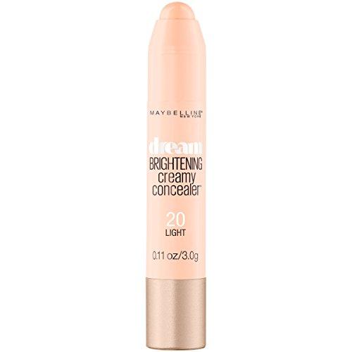 Maybelline New York Dream Brightening Creamy Concealer, Light, 0.11 Ounce