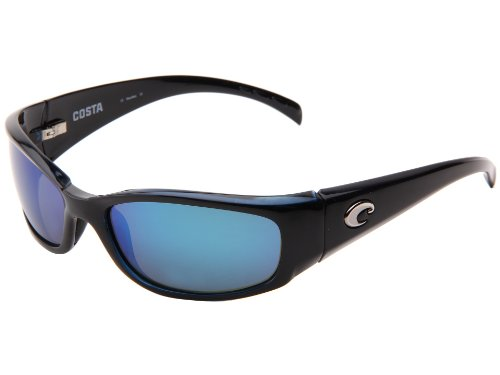 Costa Del Mar Hammerhead Sunglasses, Black, Blue Mirror 580G Lens