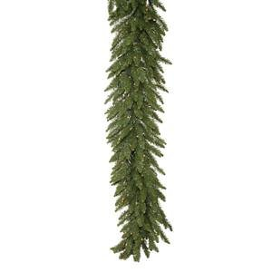 Camdon Christmas Tree Fir (Vickerman Camdon Unlit Fir Garland, 50-Feet by 16-Inch, Green)
