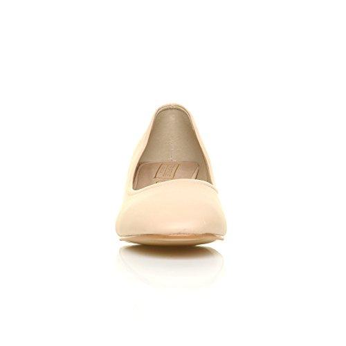 ShuWish UK , Escarpins pour femme beige NUDE PU