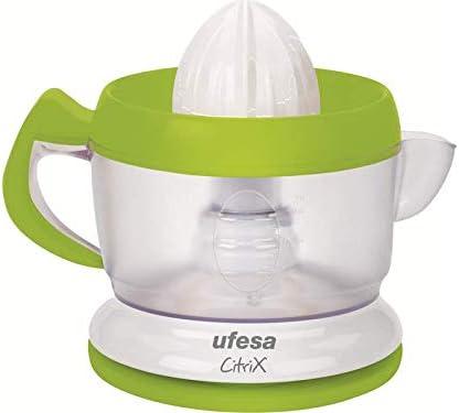 Ufesa EX4938 Activa - Exprimidor eléctrico compacto con 2 conos ...