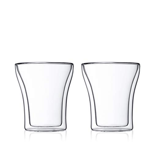 (Bodum Assam Double Wall Tumbler/DOF Glass, Set of 2)