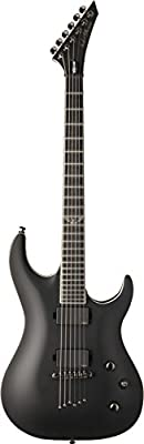 Washburn PXS20EC Parallaxe PXS Series Solid-Body Electric Guitar, Carbon Black Finish