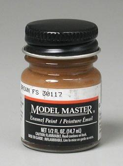Military Brown Enamel Paint .5 oz bottle FS 30117 -