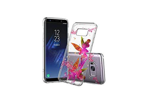 Koldan Tinker Bell Custom Case Disney Phone Cover Samsung S10 S10e S105G Samsung Clear Silicone Case Note 9 Note 8 Samsung S8 Plus S9 Plus S10 Plus Samsung A50 A30 Samsung S9 S8 Samsung M20 M30 FD191