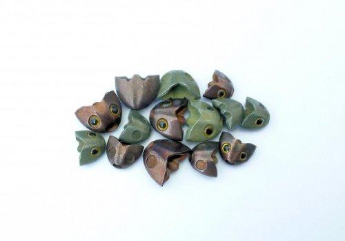 Fish Skull Sculpin Helmet Olive Small (Olive Sculpin)