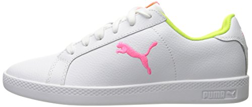 Pink Cat safety knockout Smash Donna L Puma Pumapuma w White Yellow Wn's Sg4nwAq