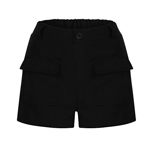 Naladoo 2019 Summer Women Sexy Shorts Casual Beach Shorts Comfy Solid Short Pant