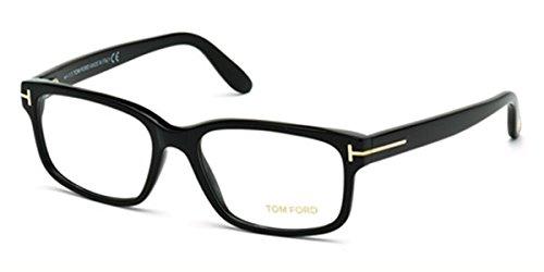 TOM FORD Eyeglasses FT5313 001 Shiny Black - 55mm Glasses Ford Tom Optical