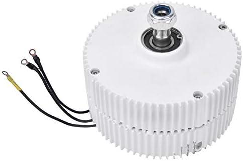 LQQ Niedrige Drehzahl 300w / 400w 12v / 24v / 48v Ausgang Permanentmagnetgenerator Windturbinengenerator Niedrige Drehzahl PMG,400W-24V