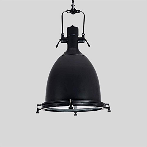 Hines Loft Industry Vintage Iron Metal Ceiling Pendant Light Retro Plating Black Garbos Chandelier Adjustable Restaurant Kitchen E27 Decoration Pendant Lamp