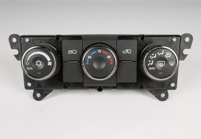 ACDelco 15-74218 GM Original Equipment Heating and Air Conditioning Control Panel with Rear Window Defogger Switch -