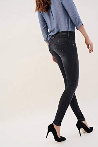 Skinny avec Jeans Mystery Clous Noir Salsa EqA7q