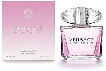 Versace Bright Crystal Eau de Toilette Spray for Women, 6.7 Fl Oz