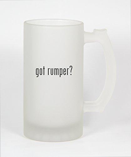 got rumper? - 16oz Frosted Glass Beer Stein