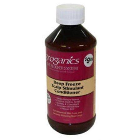 - Groganics Deep Freeze Scalp Stimulant Conditioner, 8 oz (Pack of 2)