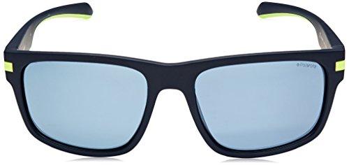 de para MTT Eyewear Azul Gafas Mujer S PLD 55 Blue Sol 2066 Polaroid w6SqAgX
