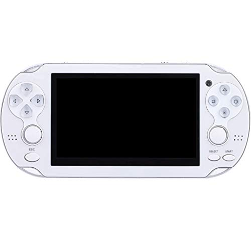 Clothful X7 PSP Game Console Small Handheld Handheld Game Machine 8G Nostalgic Game Machine King Double Rocker Game Console (White)