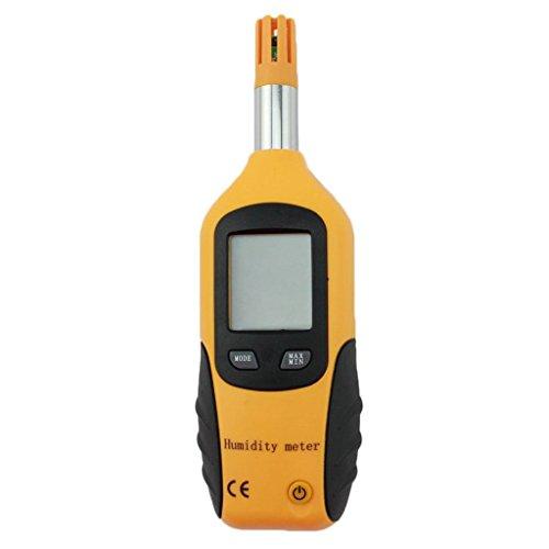 Digital Humidity Meter : Mengshen lcd digital psychrometer mini temperature and