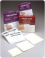 TIELLE Plus Adhesive Hydropolymer Dressing 4-1/4 x 4-1/4 [Carton of 10] by Johnson & (Tielle Hydropolymer Adhesive Dressings)