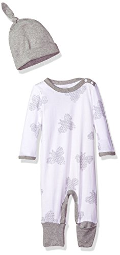 Burt's Bees Baby Baby Convertible Foot Organic Coverall with Hat