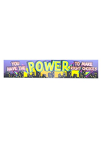 Renewing Minds Superheroes You Have The Power Banner, 5 Feet