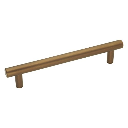 (Hickory Hardware PA0225-VBZ Metropolis Cabinet Pull, 5.3937-Inch, Veneti Bronze)