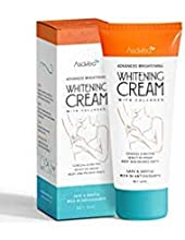 No more feeling embarrassed for darkened skin in unwanted areas. Now get ready to see your skin lightened through AsaVea Whitening Cream with Collagen.This whitening cream can be used nearly on every body part, including your underarms...