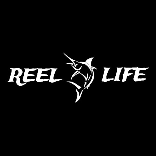 (Reel Life - Saltwater Edition Vinyl Decal)