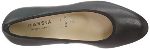 HassiaRimini, Weite G - Zapatos de Tacón Mujer Negro - Schwarz (0100 schwarz)