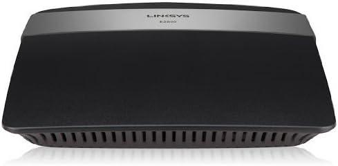 Linksys E2500-EW - Router inalámbrico N300 de Doble Banda (Wireless-N, 4 Puertos Fast Ethernet, 600 Mbps, Linksys Connect), Negro
