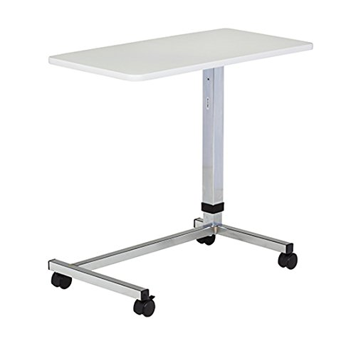 Clinton U-Base Gray, Over Bed Table