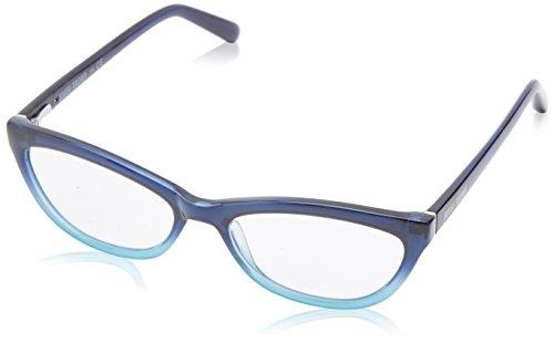 Bobbi Brown Women's Nomad Cateye Reading Glasses,Navy & Aqua Fade,1.5