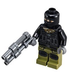 Lego Teenage Mutant Ninja Turtles Movie Foot Soldier with weapon (loose) (Teenage Mutant Ninja Turtles Bad Guys)